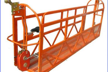 1000 ກົກ 7.5 ມ x 3 ອົງປະກອບການກໍ່ສ້າງ Aluminum Alloy Suspended Work Platform ZLP1000