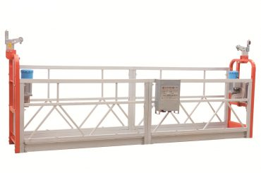 zlp630 painted steel facade cleaning working platform suspended