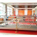 zlp630 aluminum suspension platform (iso gost) / ອຸປະກອນເຮັດຄວາມສະອາດຫນ້າຕ່າງທີ່ສູງຂຶ້ນ / gondola / cradle / swing stage ຮ້ອນ