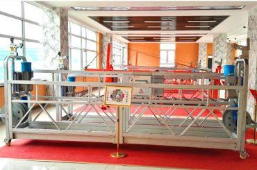 ZLP630 ແພລະຕະຟອມຊົ່ວຄາວອາລູມິນຽມ (CE ISO GOST) / ອຸປະກອນເຮັດຄວາມສະອາດຫນ້າຕ່າງທີ່ສູງຂຶ້ນ / gondola / cradle / swing ຊົ່ວຄາວຮ້ອນຮ້ອນ
