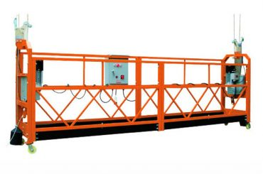 2.5M x 3 Sections 1000kg Suspended Access Platform Speed ​​lifting 8-10 m / min