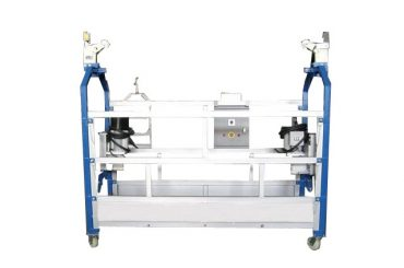 l stamp suspended suspension work platform zlp series with locking safety centrifugal