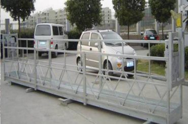 zlp630 hanging platform / swing stage electric / scaffolding for window cleaning machine